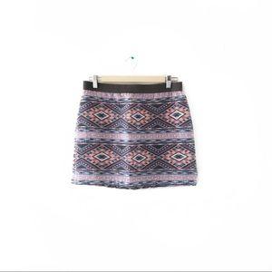 AE Tribal Woven Skirt